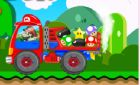 Игра Супер Марио на тракторе и винкс раскраски!