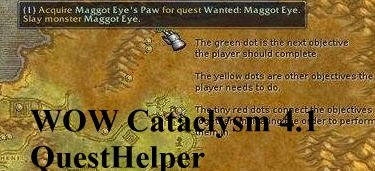 ������� QuestHelper ��� WoW 4.1 Cataclysm (�����������)